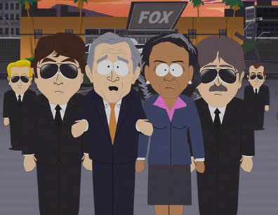 Bush on South Park
